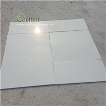 Honed Super White Quartzite Flooring Tiles