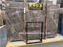 Good New Hermes Ash Grey Marble Slabs and Tiles