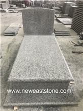 Ivory White Granite G623 Alternative Tombstone