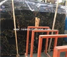 Parkistan Portoro Gold Vendome Marble Slabs& Tiles