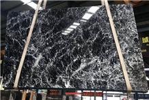 Snow Black Marble