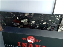 Inani Black Marinace Granite Slabs