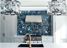 Furniture Gemstone Agate Kitchen Backsplash Tiles Wall