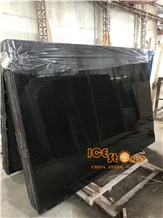 Chinese Pure Black Marble Slabs & Tiles Cheap