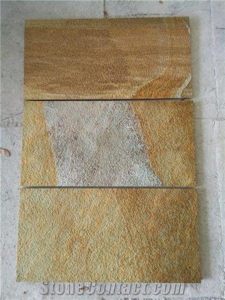 Gold Sandstone Indonesia Sandstone Tiles Stonecontact Com