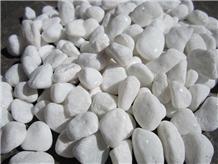 Snow White Mechnism Tumbled Garden Pebble Stone