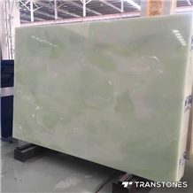 Faux Translucent Wall Slab Alabaster Onyx Panel