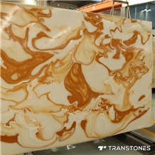 Translucent Stone Alabaster Sheets Beauty Veins