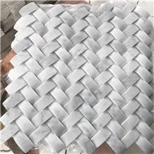 Carrara White Marble Mosaic Tiles