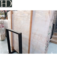 Bianco Rosa Marble Slabs & Tiles for Project