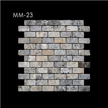 Marble and Travertine Mosaic