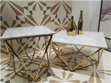 Carrara,Calacatta,Restaurant,Work Coffeetable Top