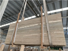 Silver Travertine Slabs&Tiles, Travertino Ocean