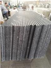 Steel Gray Slabs & Tiles, Steel Grey Granite Slabs