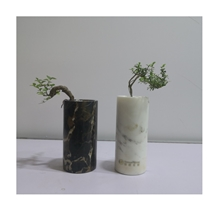 Wholesale Supplier White Marble Flower Vases