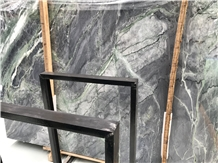 Amazon Blue Forest Green Marble Slabs,Pattern