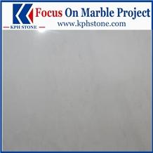 Lincoln White Marble Custom Flooring Tiles