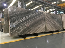 Chinese Marble Bookmatched Rosewood Galaxy