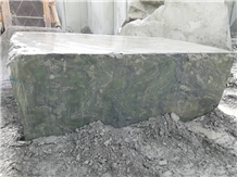 Persian Green Granite, Iran Green Granite Block