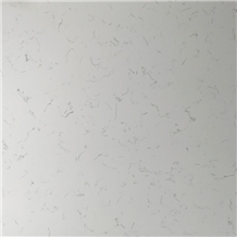 Wp-6001 White Artificial Quartz Wall Covering