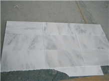 China Carrara White Marble Polished Tiles