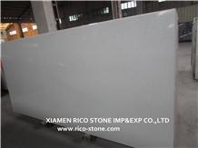 Chinese White Quartz Engineered Stone Slabs