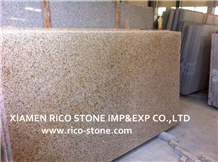 Golden Rusty Granite G682 Granite Slabs&Tiles