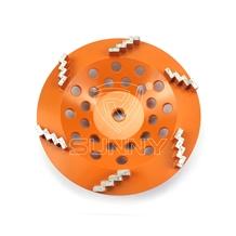 Zigzag Segment Diamond Grinding Cup Wheel