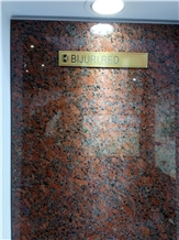 Bijuri Red Granite Tiles Slabs, Tiles