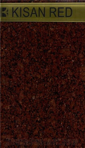 Kisan Red Granite Tiles Slabs From India Stonecontact Com