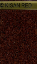 Kisan Red Granite Tiles, Slabs