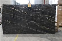 Agata Granite- Tropical Portoro Slabs