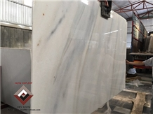 Yen Bai White Marble Blue Vein Slab