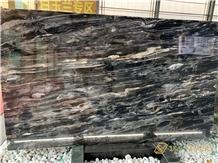 Mystic River Black Palissandro Marble Polish Slab