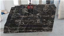 Portoro Nero Marble Slabs