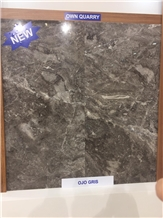 Ojo Gris Marble Slabs & Tiles, Turkey Grey Marble