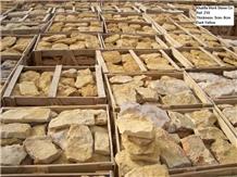 Landscaping Stones,Abadia Rosal Limestone Flagstone