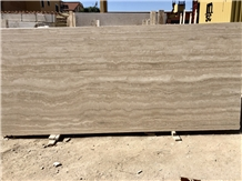 Roman Travertine Classico Slabs