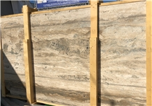 Travertino Romano Silver Bronze Slabs