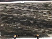 Sequoia Brown Quartzite Brown Wave Vein Slabs