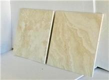 Stock Alabastrino Travertine Dark Tiles