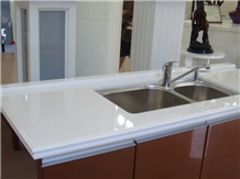 Crystallized Glass Stone Kitchen Countertops