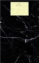 Marina Black Marble Slabs, Tiles