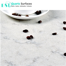 Marble Look Quartz Stone for Kitchen Countertops