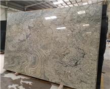 Surf Green Granite Tiles & Slabs, Floor Covering