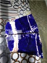 Blue Sodalite Small Block ,Granite