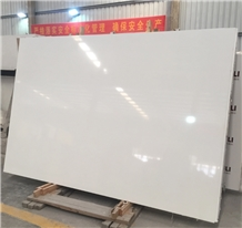 Surface Polished Snow White Artificial Marble
