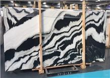 China Panda White Marble Slabs & Tiles