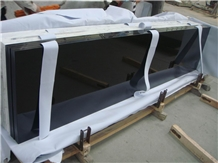 Black Granite Countertop , Polished