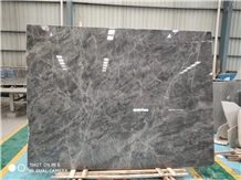 Hotel Hermes Ash Gray Marble Flooring Application